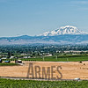 Mount Adams volcano, Washington State, viewed from the Yakima Valley