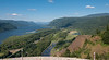 The Columbia River Gorge viewed from Vista House.