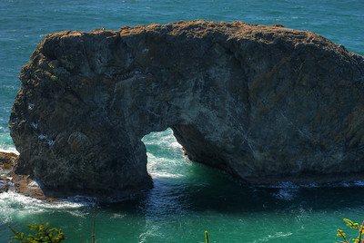 © Joseph Dougherty. All rights reserved.  Arch Rock; Southern Oregon Coast.