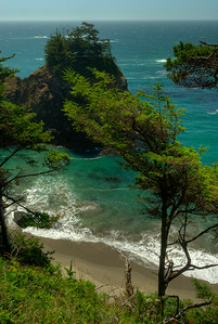 © Joseph Dougherty. All rights reserved.  Pacific Coastal Trail; Southern Oregon Coast.