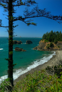 © Joseph Dougherty. All rights reserved.  Southern Oregon Coast.