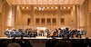 Portland Chamber Orchestra onstage before a concert at the Arlene Schnitzer Concert Hall