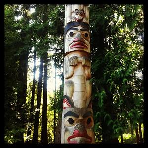 Totem, Beaver Lake WA