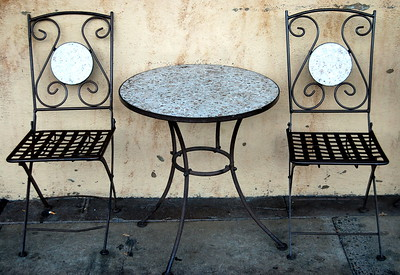 Cafe Chairs, Ashland Oregon 2008