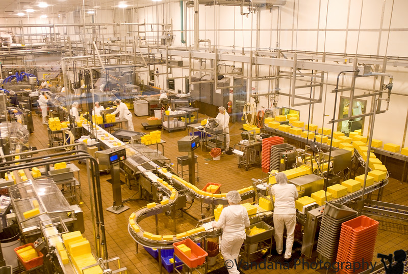The Tillamook Cheese factory, Tillamook, Oregon