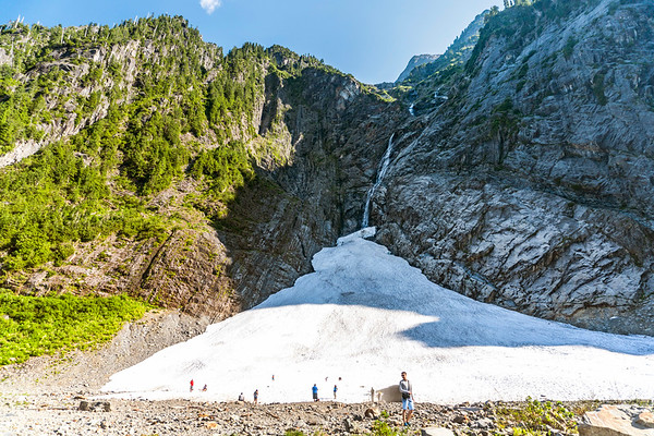 Big Four Ice Caves in Washington State