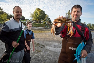 Crabbing @ Birch Bay State Park in Washington