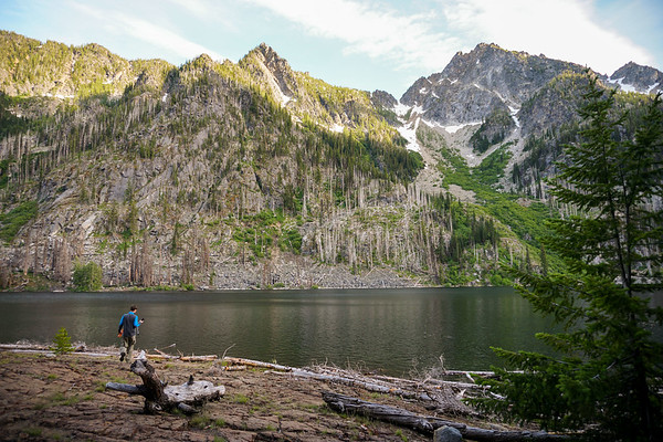 Eightmile Lake Backpacking @ Washington State