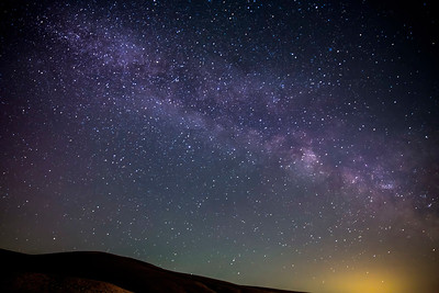 Milky Way Galaxy Astrophotography in Washington