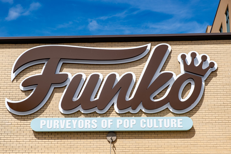 Funko Headquarters in Everett, WA
