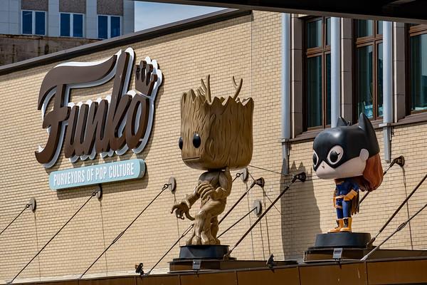 Funko Headquarters in Everett, WA