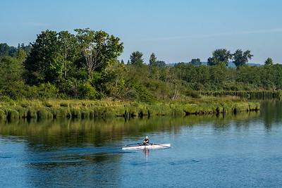 Langus Riverfront Park in Everett, WA