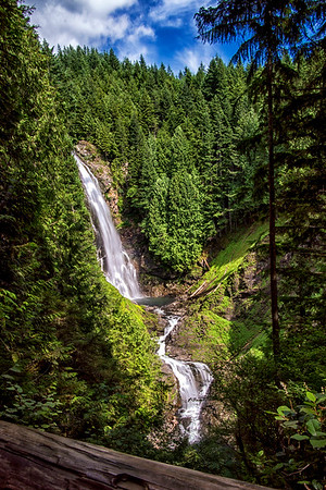 Wallace Falls in Sultan, Washington