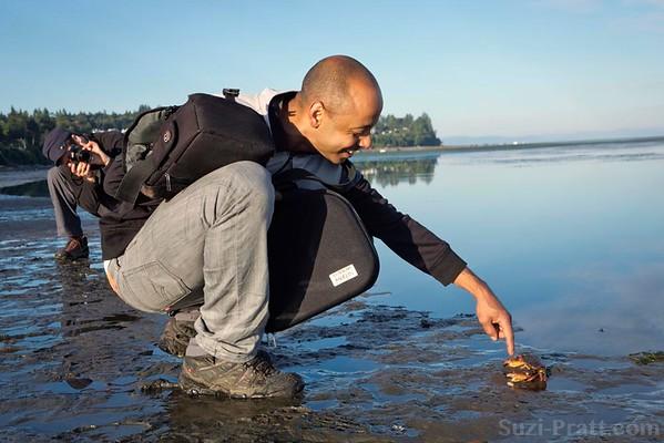 Crabbing @ Birch Bay State Park in Washington