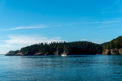 Orcas Island in San Juans in Washington State