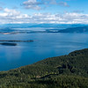 Mount Constitution at Orcas Island in Washington