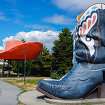 Hat and Boots (Oxbow) Park in Georgetown, Seattle