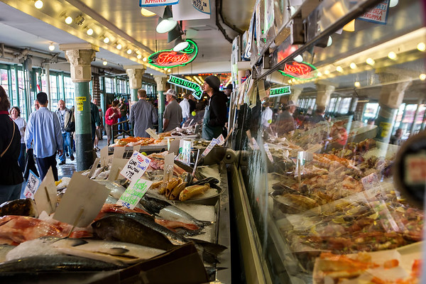 Pike Place Market in Downtown Seattle, Washington