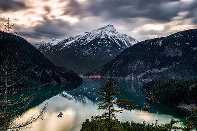 Diablo Lake in Washingon