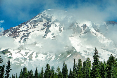 Mount Rainier National Park in Washington