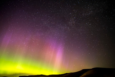 Aurora Borealis / Northern Lights in Washington