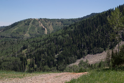 Hiking in Park City, UT