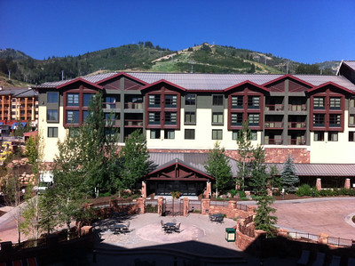 Our hotel at Park City!