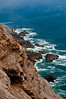 The cliffs at Point Reyes Lighthouse