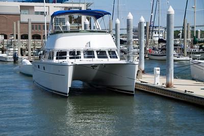 SC, Charleston Harbour Tour