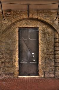 Old door in Charlotte Amalie