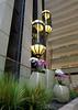 Elevators inside the Hyatt Regency