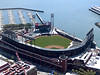 San Francisco Giants stadium at Bayview (AT&T Park).