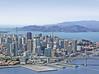 San Francisco aerial view, (internet stock photo)