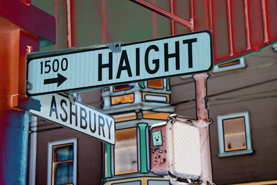 Haight Ashbury San Francisco Taken By: Kimberly Marshall