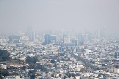 Smoky town