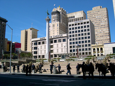 San Francisco - March 2003 Union Square