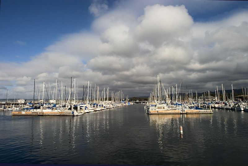 Monterey Harbor - Cloudy Afternoon<br /> June 2004