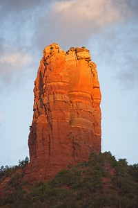 Sunrise on Chimney Rock