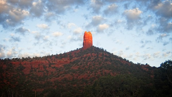 Chimney Rock Sunrise © Chiyoko Meacham