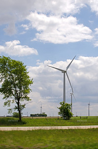 Wind farm in Minnesota, USA