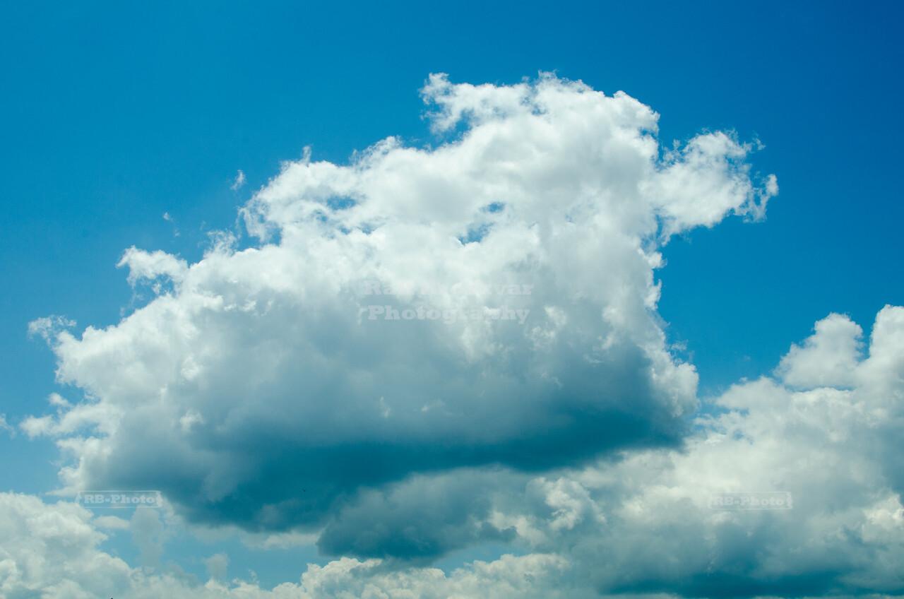 Summer clouds over Minnesota