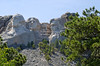 The four Presidents in the afternoon sun at Mount Rushmore National Memorial, South Dakota, USA