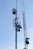 Radio Antennae on Mount Coolidge