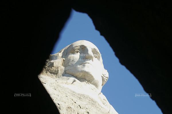 President George Washington at Mount Rushmore