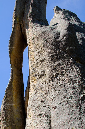 Needle's Eye, a rock formation on Needles Highway Scenic Drive (SD Highway 87) in Custer State Park, South Dakota, USA