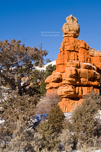 Balanced Rock in Red Canyon