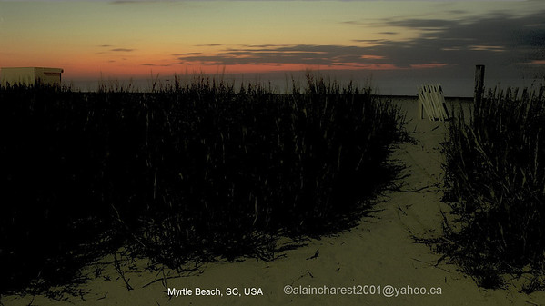 Myrtlebeach, SC, USA; sunrise
