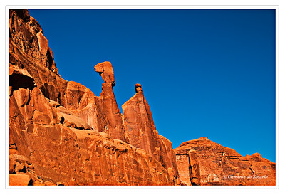 Park Avenue, Arches National Park, Utah, USA