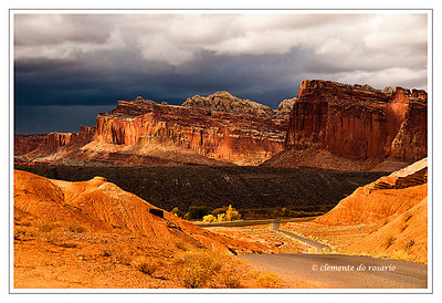 Capitol Reef National Park, Southwest Utah, USA