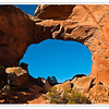 Broken Arch, Arches National Park, Utah, USA